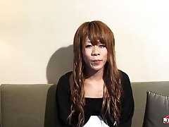 Sexy transgirl Sena Kasaiwazaki is all alone and she feels very very horny and she is waiting for you to come join her and help her get off. Will you