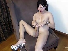 But Movie has something else on her mind and seduces the camera guy with a blowjob. In the middle of the blowjob, the camera man is caught and Gogo sp