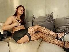Makoto has a lot of good qualities, charming personality, great body, and a very big cock as well. This sexy young model is showing her stuff just for