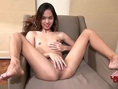 Beautiful, sexy, slim girl with nice body and dick