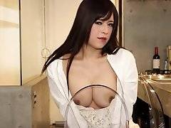 Say konnichiwa to busty beauty Mayu who is set to make some serious waves here on SMJ - just 24-years young with a truly awesome rack, soft white skin