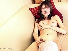 Jasmine is pouring out of her leopard miniskirt, titties and cock everywhere. She`s such a sexy woman, with her dark silky skin and sultry looks. Jasm