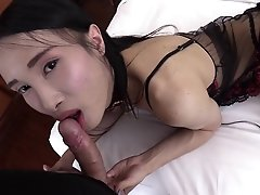 Pooh comes with a satisfaction guarantee! Her donkey dick is always hard and ready for a good fuck. In this lengthy LadyboyGold episode you can enjoy