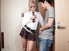 Cute ladyboy Erina Aisaki is looking for having some fun.